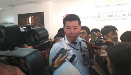 Foto Penjualan Honda Tumbuh 43%, Brio Satya Masih Mendominasi