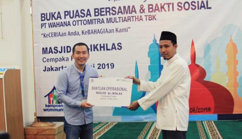 Foto Bulan Ramadan, WOM Finance Berbagi Kebaikan dan Keceriaan