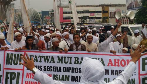 Foto FPI Ibaratkan Rezim Jokowi Mirip Hukum Rimba