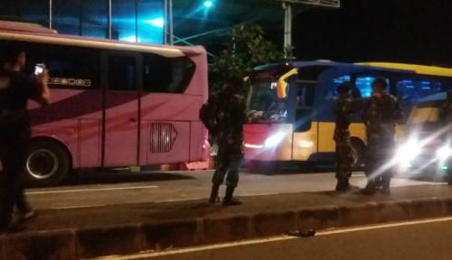 Foto Lagi, Massa Aksi 22 Mei Lagi-Lagi Gagal Berangkat ke Jakarta