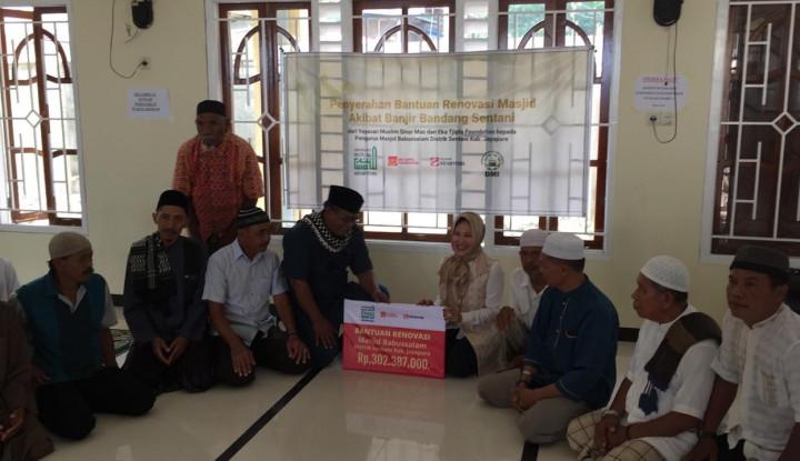 Bersama ETF, Yayasan Muslim Sinar Mas Renovasi Sarana Pendidikan dan Ibadah - Warta Ekonomi