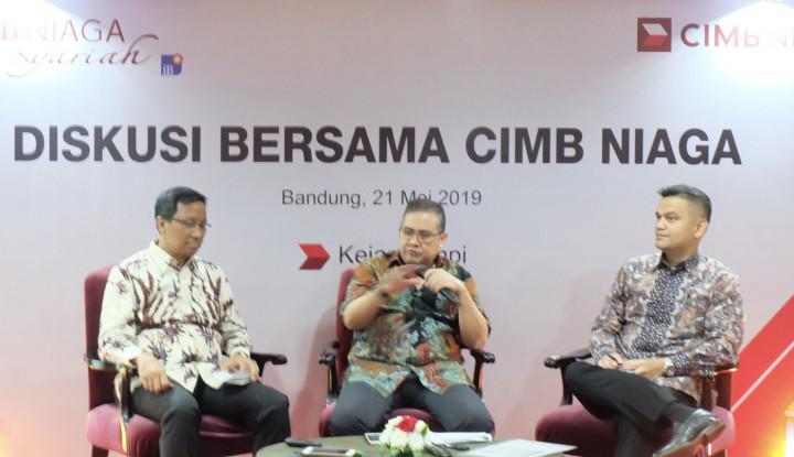Laba CIMB Niaga Syariah di Kuartal I 2019 Meroket 54,1% - Warta Ekonomi