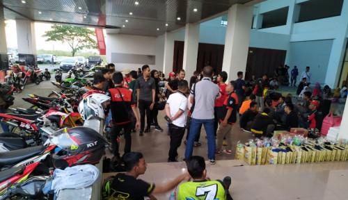 Foto Bulan Penuh Berkah, Evalube Ajak Bikers Bukber