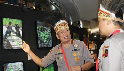 Foto Unik, Polri Ungkap Kehidupan Papua Lewat Pameran Foto