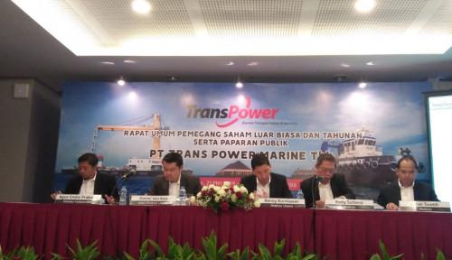 Foto Trans Power Marine Yakin Laba dan Pendapatan Tumbuh 20% Tahun Ini