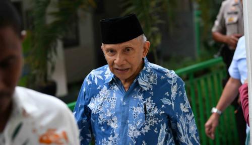 Foto Amien Rais Salahkan Kapolri Tito: Negara Bisa Bubar Nih...