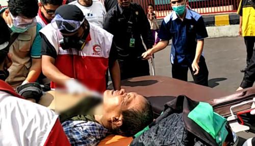 Foto Kasihan, Driver Ojol Jadi Korban Salah Tembak Ricuh 22 Mei