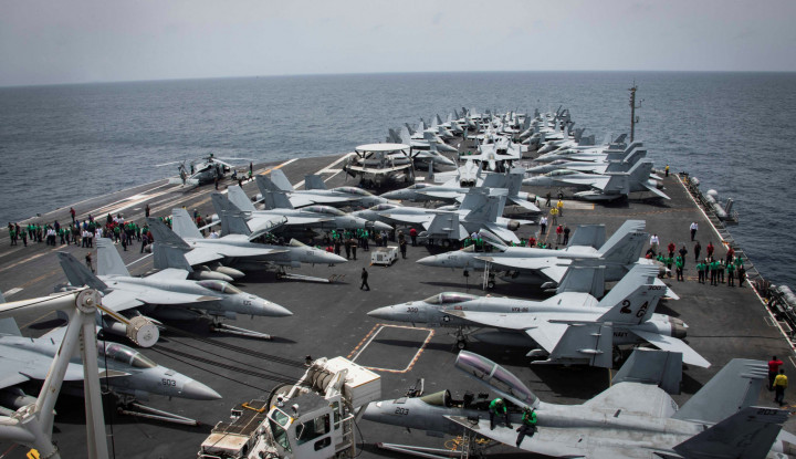 Iran Ancam Tenggelamkan Kapal AS Pakai Senjata Ini