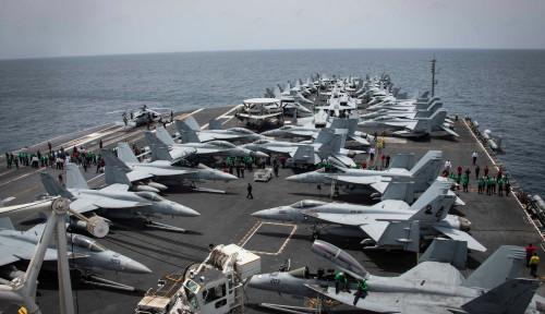 Foto Iran Ancam Tenggelamkan Kapal AS Pakai Senjata Ini
