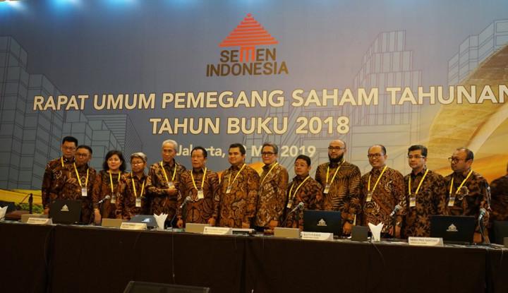 Pendapatan Semen Indonesia Meningkat 10,33% Sepanjang 2018 - Warta Ekonomi