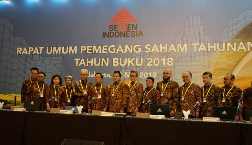 Foto Pendapatan Semen Indonesia Meningkat 10,33% Sepanjang 2018