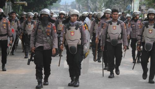 Foto Polisi Bertanggungjawab Usut Pelaku Penembakan 22 Mei
