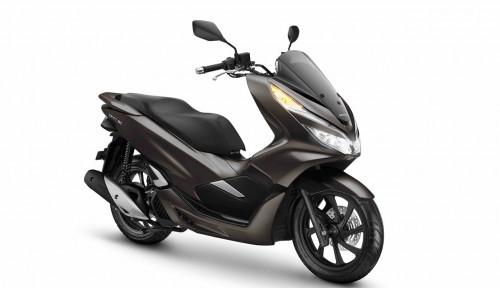Foto Skutik Besar Honda PCX Punya Warna Baru, Makin Berkelas!