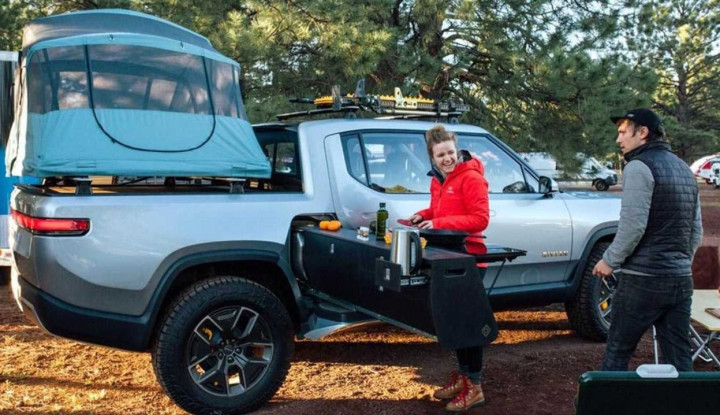 Rivian Kenalkan Konsep Gear Tunel, SUV Jadi Kendaraan Outdoor - Warta Ekonomi