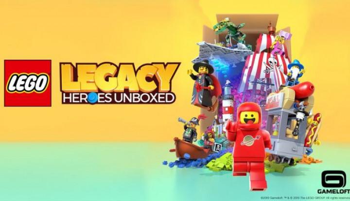 "Gameloft dan Lego Group Akan Luncurkan ""LEGO® Legacy: Heroes Unboxed"" - Warta Ekonomi"