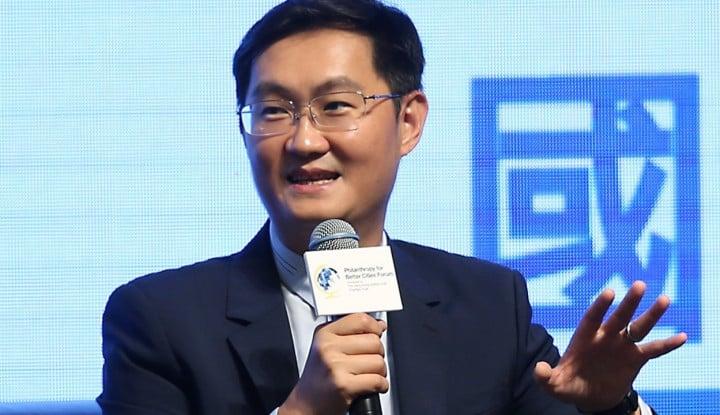 Foto Berita Gils! Perusahaan Orang Terkaya China Lebih Berharga dari Facebook
