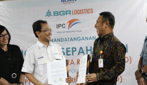 Perkuat Layanan Logistik, BGR Logistics Jalin Kerja Sama dengan PTP