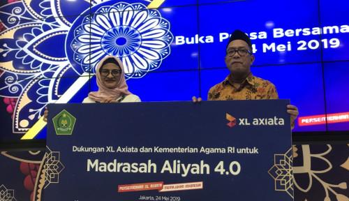 Foto XL Axiata Bersama Kemenag Luncurkan Program Madrasah Aliyah 4.0