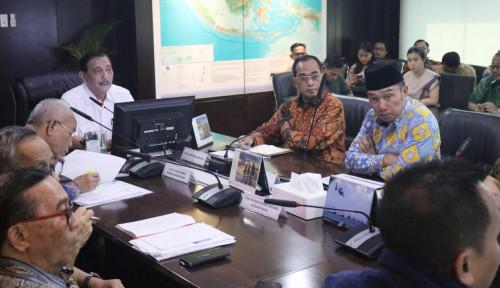Foto Rakor Progres Tol Cisumdawu Ditunda, Usai Lebaran Bahas Pembebasan Lahan