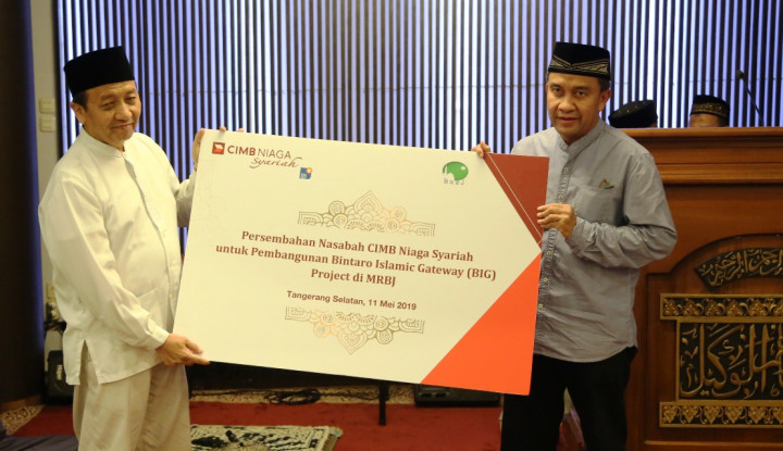 CIMB Niaga Syariah Mudahkan Masyarakat Tunaikan Wakaf Uang dan Wakaf melalui Uang - Warta Ekonomi