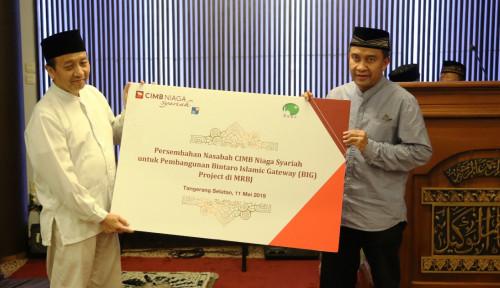 Foto CIMB Niaga Syariah Mudahkan Masyarakat Tunaikan Wakaf Uang dan Wakaf melalui Uang