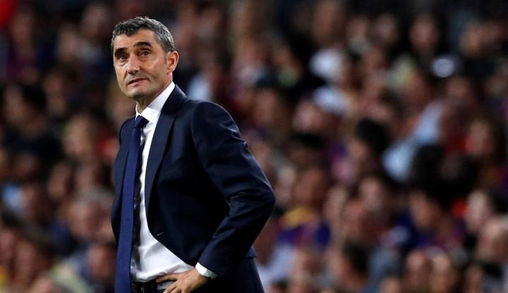 Saat Barcelona Kalah, Valverde Sudah 'Akrab' dengan Rumor Pemecatan - Warta Ekonomi