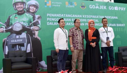 Foto Go-Jek dan Go-Pay Mau Digitalkan Jabar