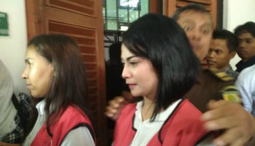 Foto Kasus Vanessa Angel, Dua Muncikari Dituntut 7 Bulan Penjara