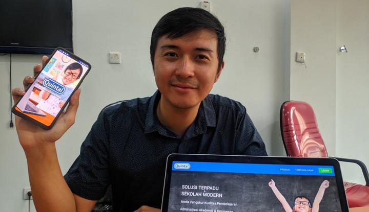 Quintal Jawab Tantangan Edutech di Indonesia - Warta Ekonomi
