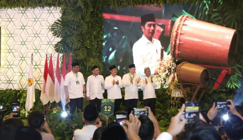 Foto Presiden Jokowi Sebut Ketua Hipmi Cocok Jadi Menteri