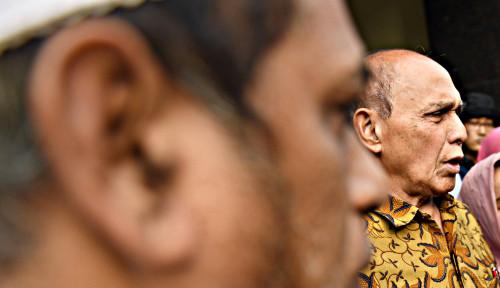 Foto Dikonfrontasi dengan Saksi Lain, Kivlan Zen Diperiksa Lagi