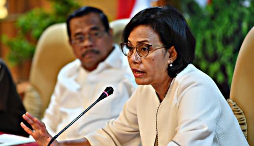 Foto Sri Mulyani: Pemerintah Tingkatkan Kewaspadaan Hadapi Ketidakpastian Global