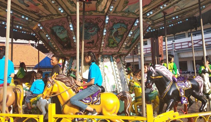 Jakarta Fair 2019 Ajak Anak Yatim dan Panti Menikmati Wahana - Warta Ekonomi