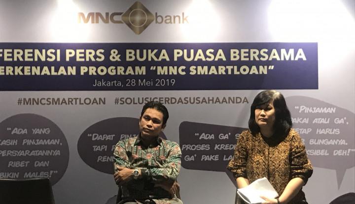 Incar UKM, MNC Bank Luncurkan MNC Smartloan - Warta Ekonomi
