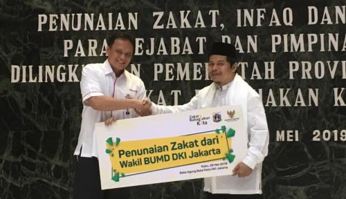 Foto Bank DKI Penyumbang Zakat Terbesar BUMD DKI Jakarta