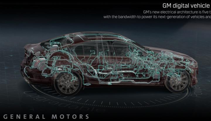 Ini Dia Penampakan Perdana Platform Kendaraan Berbasis Digital dari GM