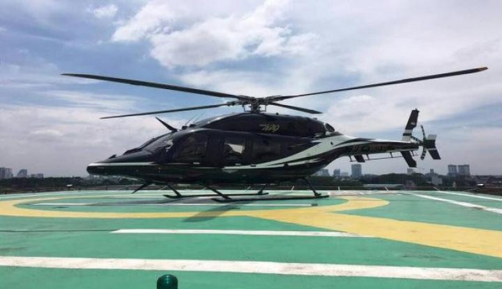 Taksi dan Ojek Online Enggak Jaman, Aplikator Ini Tawarkan Helikopter Online! - Warta Ekonomi