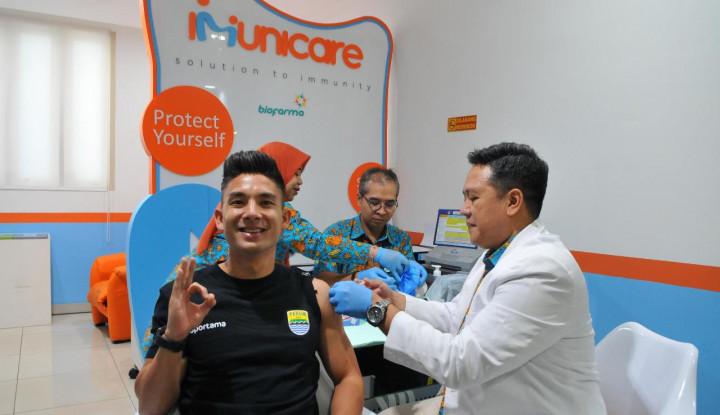 Skuad Persib Bandung Divaksin Flubio - Warta Ekonomi