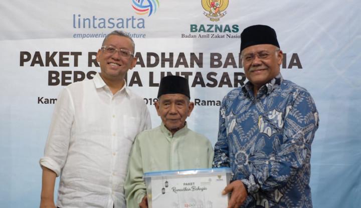 Gandeng Baznas, Lintasarta Gelar Pengobatan Gratis dan Salurkan Paket Ramadan - Warta Ekonomi