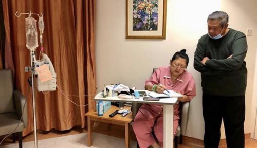 Foto 40 Hari Kepergian Ani, SBY Masih Menata Hati