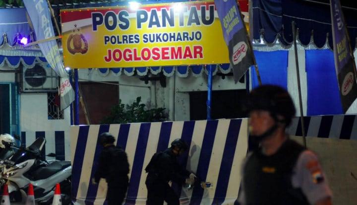 Bom Bunuh Diri di Kartasura Sangat Amatir, Mirip Petasan