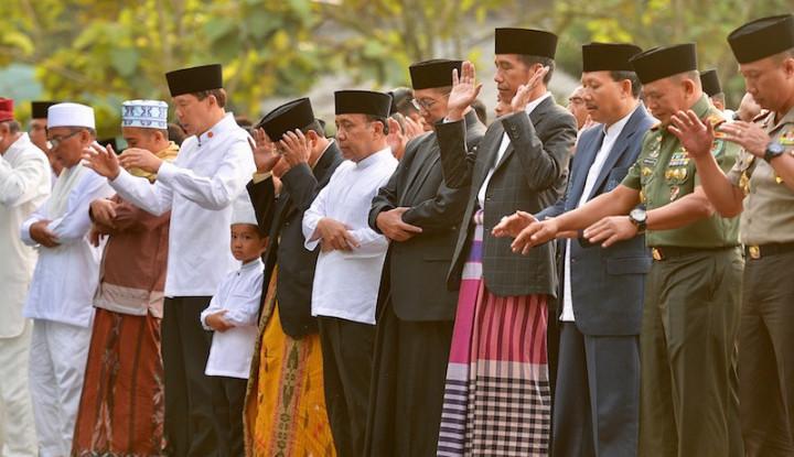 Jokowi Akan Salat Id di Masjid Kampung, Istiqlal Tetap... - Warta Ekonomi