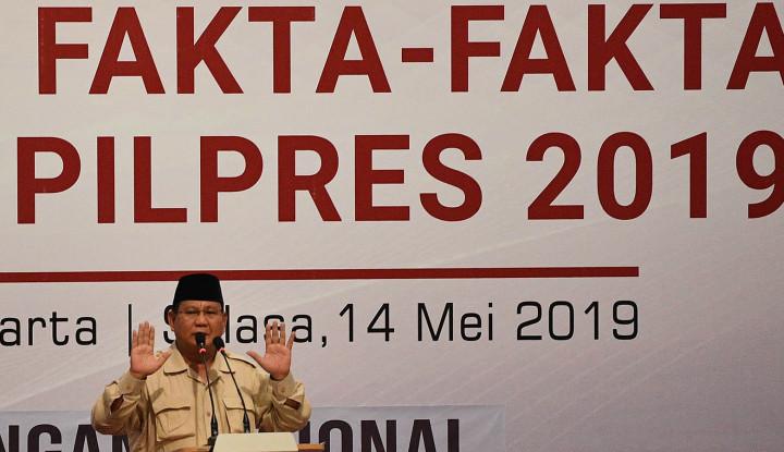 Kenapa Prabowo Tak Gelar Open House Lebaran? - Warta Ekonomi