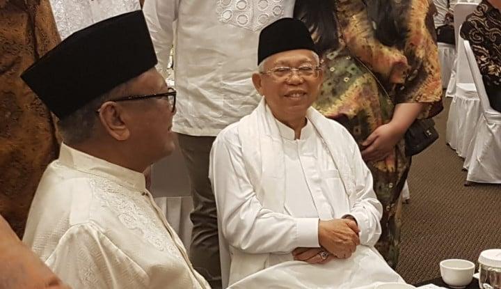 Ma'ruf Amin Sebut Paham Radikal Berkembang usai Penusukan Wiranto - Warta Ekonomi