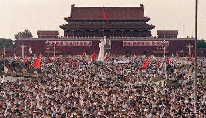 Taiwan Sebut China Tutup-tutupi Tragedi Berdarah Tiananmen