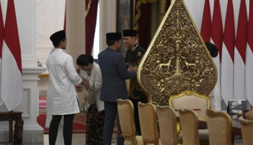 Foto Temui Megawati, AHY Akui Prabowo Sudah Keok