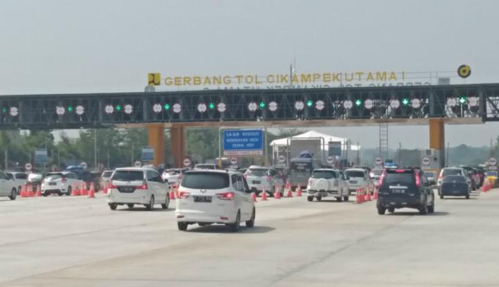 Jasa Marga Catat Jumlah Kendaraan Lewati GT Cikampek Utama Naik 219 Persen - Warta Ekonomi