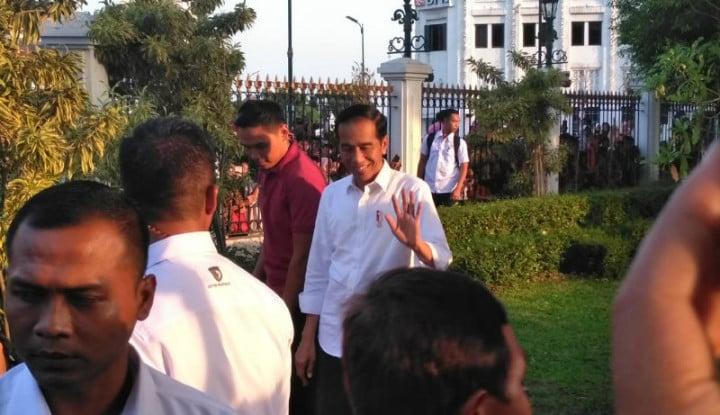 Presiden Jokowi Kunjungi Yogyakarta Ditemani Jan Ethes dan Gibran