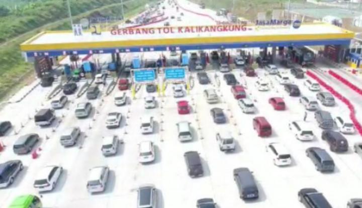 Jasa Marga Catat 275 Ribu Kendaraan Melintas di Tol Kalikangkung