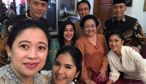 Foto Gak Nyangka, Ternyata Dendam Bu Mega Turun ke Anak SBY